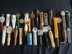 🔥🚨🔥26 Assorted Lot Beer Taps Very Rare Carlsberg Grittys St. Lawrence