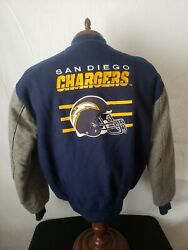🔥🚨san Diego Chargers Vtg M Delong Varsity Wool Rare Great Condition
