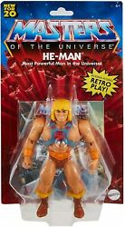 Masters Of The Universe Origins He-man Af Motu 2021 Mattel