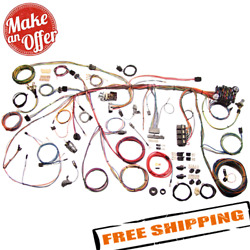 American Autowire 510177 Classic Update Wiring Harness Kit For 1969 Ford Mustang