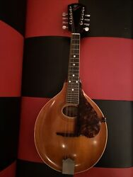Vintage Beautiful 1907-1917 Gibson A Style 8 String Mandolin W/case.
