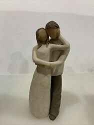 Willow Tree Together Polyresin Love Marriage Couple 26032 Demdaco