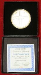 2014 Silver Bullet Silver Shield Crucifixion Proof 0720 Sbss