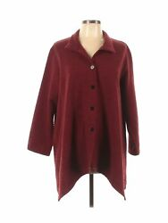 Christopher Calvin Women Red Jacket L $29.99