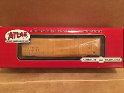 Ho Atlas Chicago And North Western 50' Berwick Boxcar Cnw 156177 Weathered
