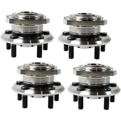 Wheel Hubs Set Of 4 Front And Rear Left-and-right Lh Rh For Chrysler 300 Charger