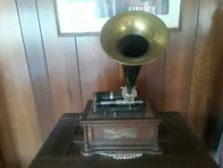 Columbia Be Cylinder Phonograph, Original- Very Nice And Very Rare