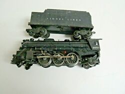 Lionel 2026 Steam Locomotive With A 6466wx Whistle Tender