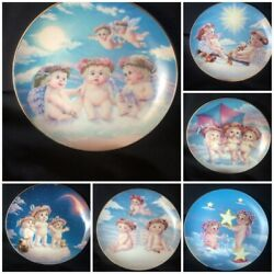 6 Plates The Hamilton Collection By-kristin Andldquodreamsiclesandrdquo Collectables Usa Made