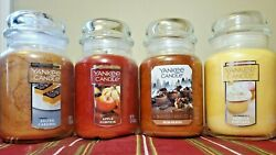 Yankee Candle Large Jar Candle Choose Your Scent 22oz RARE Ships Free Brand NEW