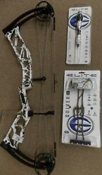 Elite Ritual 33 Realtree Snow 27 70 Rh Matching Quiver Stabilizer And Sling