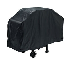 Grill Mark Black Grill Cover For Many Gas Barbecue Grills 56 In. W X 40 In. H