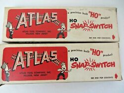 Vintage Atlas Snap Switch Remote Control Right 51 Ho Scale Lot Of 2 12020