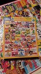Cereal Boxes Vintage 1000 Piece White Mountain Puzzle Great Used Condition