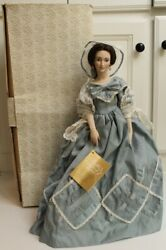 Melanie Franklin Heirloom Dolls From Gone With The Wind In Blue Plantation Dress