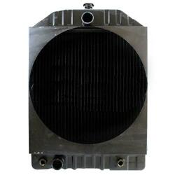 New 219702 Tractor Radiator - 22 3/8 X 21 3/8 X 3 3/8 20 3/4 Fan Hole Fits Wh