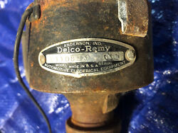 1957 - 1961 Corvette Dual Point Distributor W/new Points Delco Remy 1110891 3g80