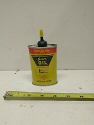 Vintage Outers 445 Gun Oil Handy Oiler Oil Can Graphics Of Hunter And Dog