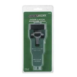 Door Latch Plate Mortise Jig Tool Installation Guide For 1-3/4 Or 1-3/8 Thick