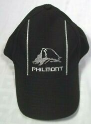 Philmont Ranch Boy Scout Hat New Mexico Usa Embroidery Black Womans Metalic Cap
