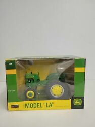 Lp42757 Jdm248 John Deere Speccast 1/16 1942 Model La W/ Wheel Weights