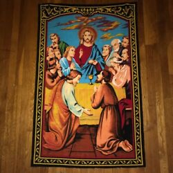 THE LAST SUPPER Jesus Christ Tapestry 2 ½ 4 ½