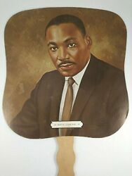 Rev. Dr. Martin Luther King Jr. Hand Fan - Wilson-cox Funeral Home Dallas Tx