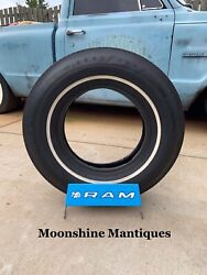 Nos Vintage Ram Tire Display Stand Rack Sign - Gas And Oil