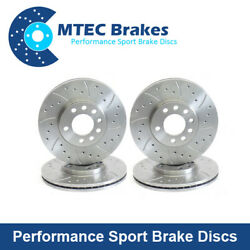 Bmw F12 F13 640d 640i 650i Cabrio Coup 02/11- Front Rear Brake Discs 348mm 345mm