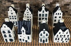 Bols Amsterdam 1575 Klm Numbers 3, 7, 32, 69, 80, 87, 89, 92 Building Decanters