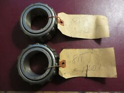 Vintage Oem 1938 Ford Truck Front Inner Wheel Bearing Pair Part 81t-1201 Nos