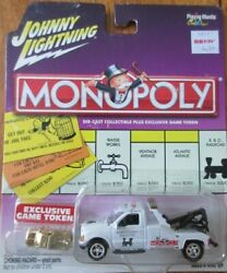 Johnny Lighting Monopoly And03900 Ford F-450 Two Truck Pennsylvania Rr W/ Token 164