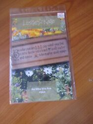 Lizzie Kate Cross Stitch Pattern Be Who You Are # 163 $18.99