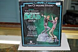 The Walking Dead Statue 621/1000 By Cs Moore Hand Painted L. Ed.original Box