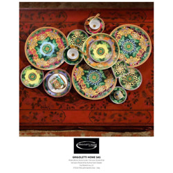 Versace Rosenthal - Jungle Animalier - Set Dishes 18 Pieces For 6 Persons