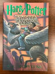 Harry Potter And The Prisoner Of Azkaban Rowling Signed 1st/1st Unread