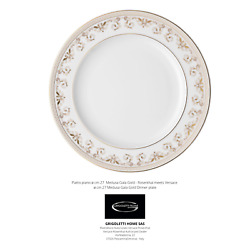 Versace Rosenthal - Medusa Gala - Dishes 18 Pieces For 6 Persons Dealer