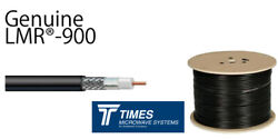 Lmr-900-db Times Microwave Coaxial 50 Ohm Low Loss Cable Radio All Lengths Lmr