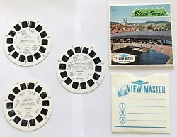 Vintage Viewmaster The Black Forest C410 Set Of 3 Reels In Superb Condition