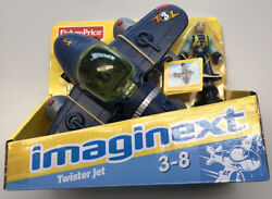 Fisher Price Imaginext Sky Racers Twister Jet 3 New Rare Htf Fast Ship Unopened