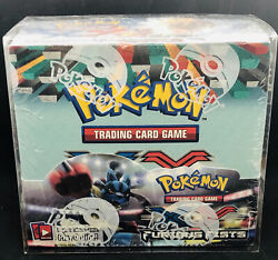 Pokemon Xy Furious Fists Factory Sealed Booster Box 36 Packs