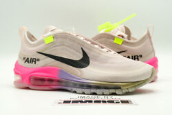 Nike Air Max 97 New Size 4.5 Off-white Elemental Rose Serena Queen Aj4585 600