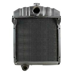 New 388459r1 New Copper/ Brass Radiator Fits Case-ih Tractor Models 424 444 +