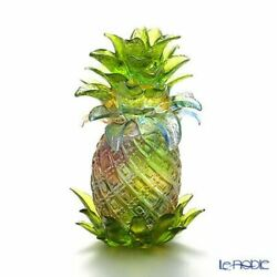 Liuli Gong Fang Crystal Glass And039pineappleand039and039and039 Luxury Interior Golden Fruit New