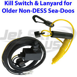 Seadoo Safety Switch And Lanyard Non-dess Fits 1989-1995 Sp Spi Spx Xp Gt Gts Gtx