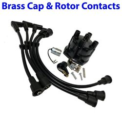 Mercruiser Omc Tune-up Kit Gm 2.5 3.0l Distributor Cap Rotor Points Plug Wires
