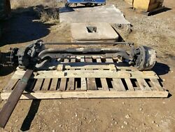 12000 Pound Steer Axle, Ff961, 32.5, 4 Springs, New Brakes And Drums