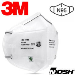 3m 9010 N95 Particulate Respirator Disposable Protective Mask Niosh Exp 2025-09