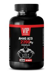 Muscle Building And Fat Burning - Amino Acid 2200mg 1b - Pre Workout
