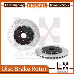 Brembo High Performance Oe Equivalent Front Brake Rotors Set For Gt-r 2012-2018
